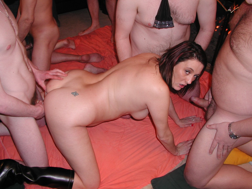 Dogging and gang bang