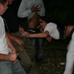 Outdoor gangbang