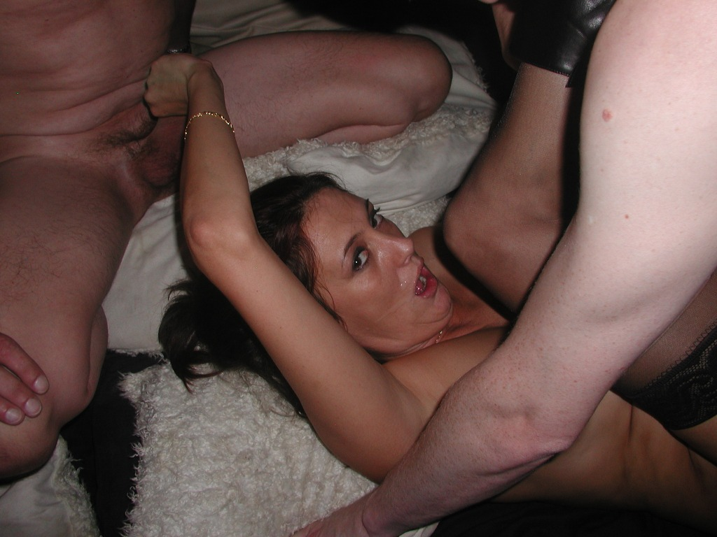 Amateur girl gangbanged by several masked guys 1